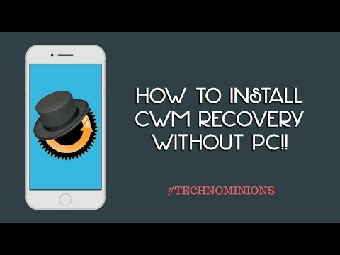 How to Install CWM/TWRP Recovery in Any Android Phone WIthout PC
