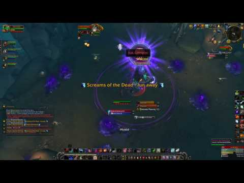 [4K] Mythic 10 Maw of Souls WoW Legion i3 6100 GTX 1070