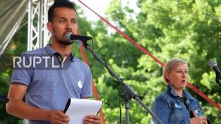 Slovakia: Thousands join farmers at anti-govt protest in Bratislava