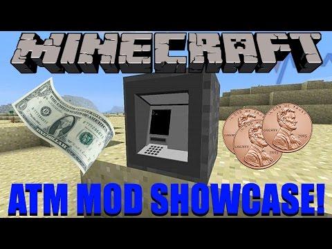 Atm Mod Showcase #4: Atm And Money!