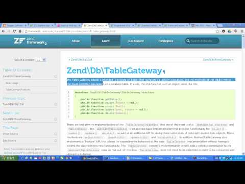 Building a CRUD app with Zend Framework 2 tutorial. Simple, Easy, Fast