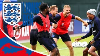 Players Warm-Up with Hilarious Kabaddi Drill! | Lions