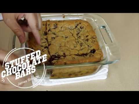 York Peppermint Patty Stuffed Chocolate Chip Bars / English Subtitles
