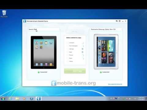 How to Sync iPad with Galaxy Note 10.1 & Copy Videos from iPad to Samsung Galaxy Note 10.1
