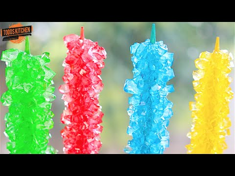 Rock Candy on a stick - How to Video