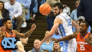 Luke Maye Buries Clemson With Stitches In Nose