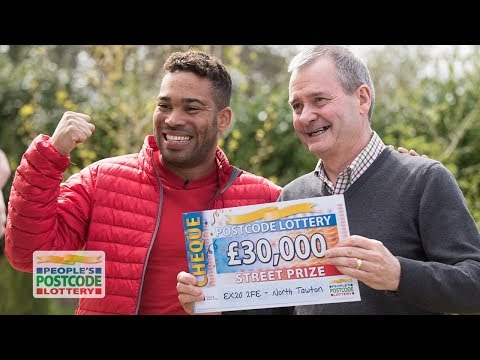 Street Prize Winners - EX20 2FE in North Tawton on 21/04/2018 - People's Postcode Lottery