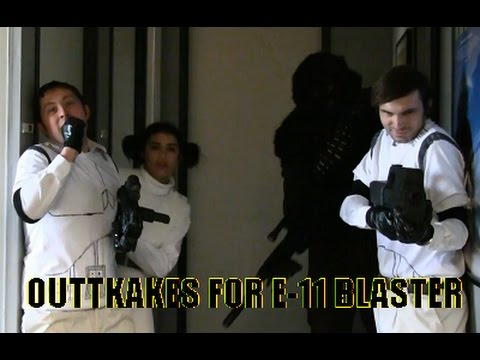Outtakes for E-11 Blaster Rifle