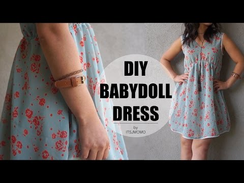 DIY How to Sew a Babydoll Dress + Outfits