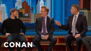 Will Ferrell: Bostonians Go Crazy For Mark Wahlberg  - CONAN on TBS