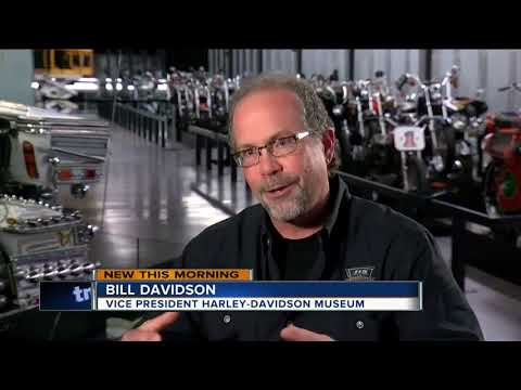 Grandson of Harley-Davidson co-founder on riders customizing their bikes
