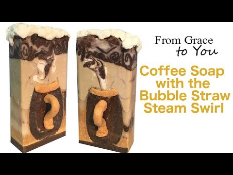 "Making ""Wake Up Call"" Cold Process Coffee Soap with the Steam Swirl"