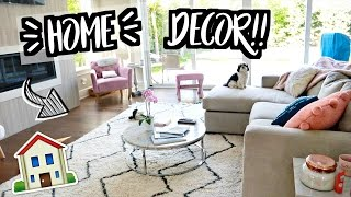 NEW HOME DECOR!!! AlishaMarieVlogs
