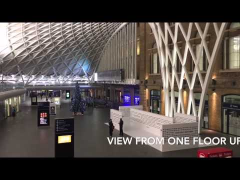 King's Cross station London early morning