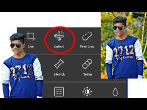 New crop method || Picsart Updated tool || crop in 2 mins || Picsart tutorial by SG Editz ||