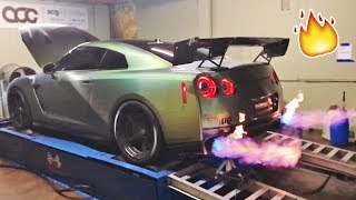 MY GTR SPITS 5FT FLAMES!!! **not photoshopped**
