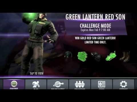 Red Son Green Lantern