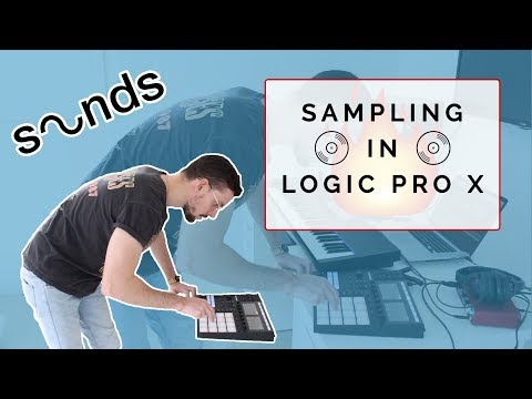 Making A Beat With A Sample In Logic Pro X