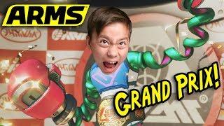 ARMS GRAND PRIX!!! Battle the Big Boss!