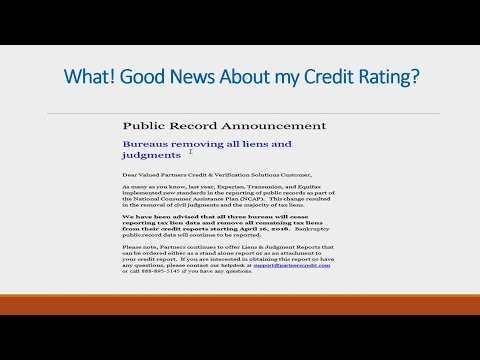 Judgements And Liens On Your Credit -NO PROBLEM!