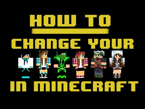 How To Change Your Skin In Minecraft [All Versions] [Mac]