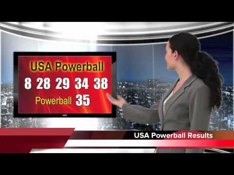 Powerball results for 19 Jan 2013, Saturday