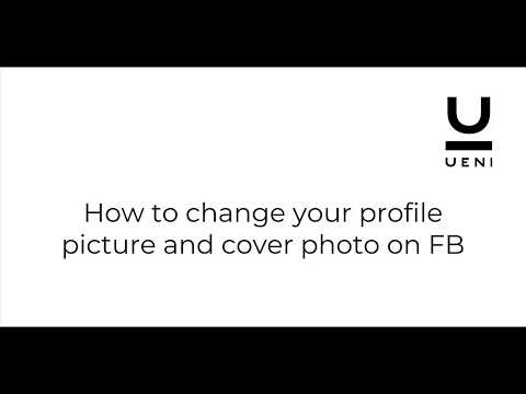 How to change your Facebook profile picture and cover photo