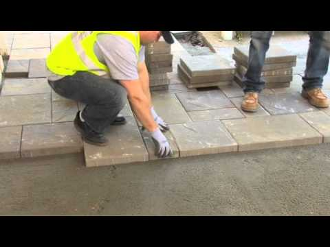 How to Install Belgard Pavers: Step 8 - How to Lay Interlocking Concrete Pavers