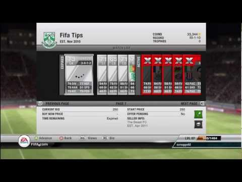 Fifa 12 Ultimate Team: How to Make Coins (Silver Player Method)