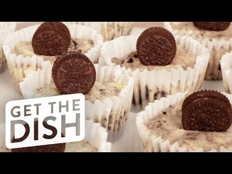 Oreo Cookies and Cream Cheesecake Cups Recipe | Get the Dish