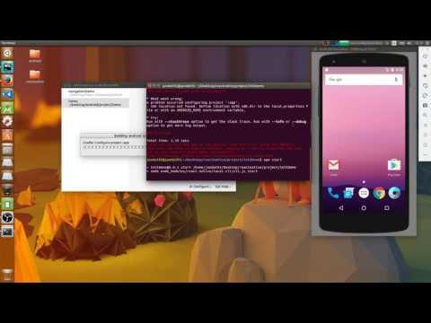 React Native Run Project In Ubuntu 16.04