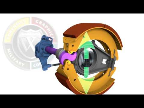 Commercial vehicle air brakes