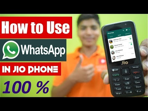 How To Use Whatsapp on Jio Phone | Install Whatsapp in Jio phone | With proof (hindi)