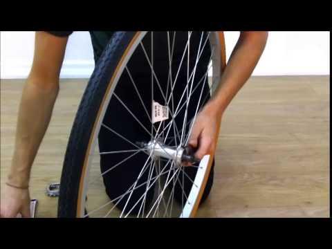 How To Space A Rear Single Speed Wheel - Fixie Road Bike Wheel