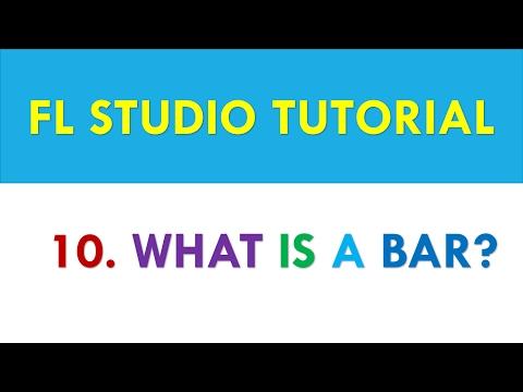 FL Studio 12 Tutorial - 10 - What is a bar