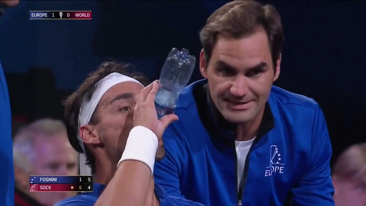 Roger Federer And Rafael Nadal Best/Funny Reactions and Moments From Laver Cup 2019