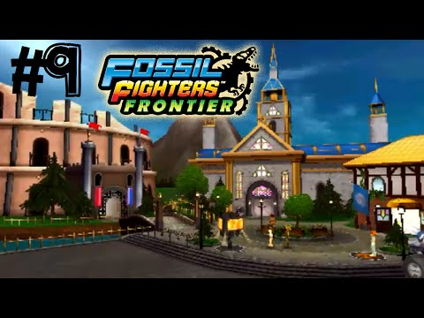 Fossil Fighters: Frontier Nintendo 3DS EUROPE YODEL HILLS! Walkthrough/Gameplay Part 9 English!
