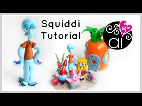 Squiddi | Polymer Clay Tutorial | Cake Topper DIY