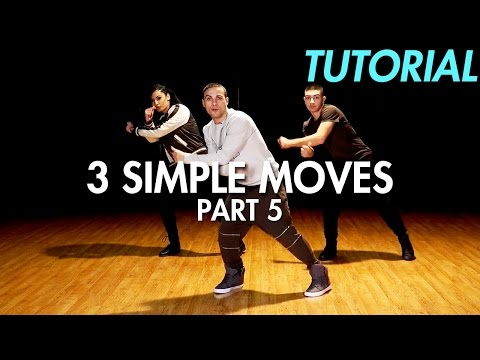 3 Simple Dance Moves for Beginners - Part 5 (Hip Hop Dance Moves Tutorial)   Mihran Kirakosian