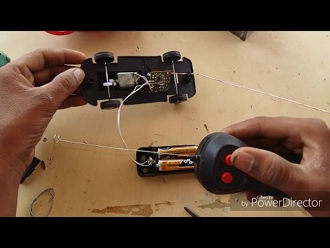How to make a wireless Rc car with old car rc