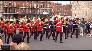 Changing the Guard at Windsor Castle - Saturday the 10th of