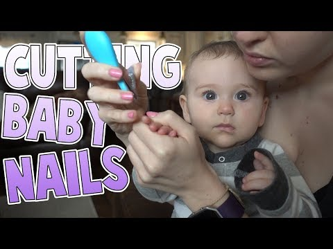 Pee, Frothy Milk and Baby Nails | Family Baby Vlogs