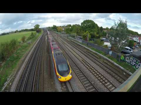 Virgin Trains \/\\ the fastest train on the island //\/