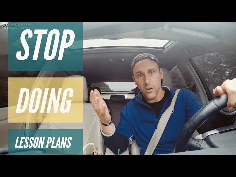 STOP Doing Lesson Plans!