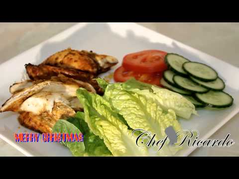 Coming Soon The Jamaican Jerk Chicken Salad | Chef Ricardo Cooking