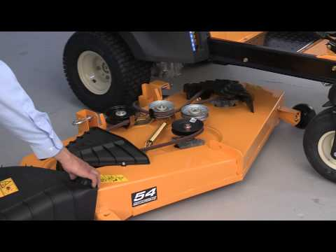 How to Change the Blades on RZT Zero-Turn Riding Mowers