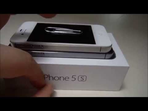 How to remove the Sim Card on an iPhone 4/5. (Without Provided Tool)