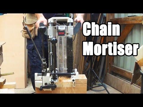 Timber Framing Chain Mortiser
