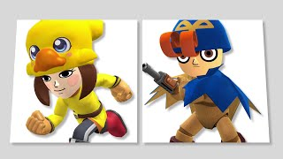 Super Smash Bros. - Mii Fighters Suit Up for Wave Five