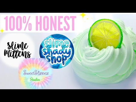 100% HONEST Famous Instagram Slime Shop Review! Famous & Underrated US Slime Package Unboxing